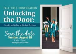15-0444 Convocation Fall 2015 E Save the Date_FINAL