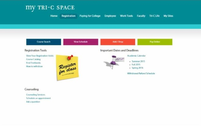 my tri c space The New My Tri-C Space is Coming Monday, July 13 – Faculty Central