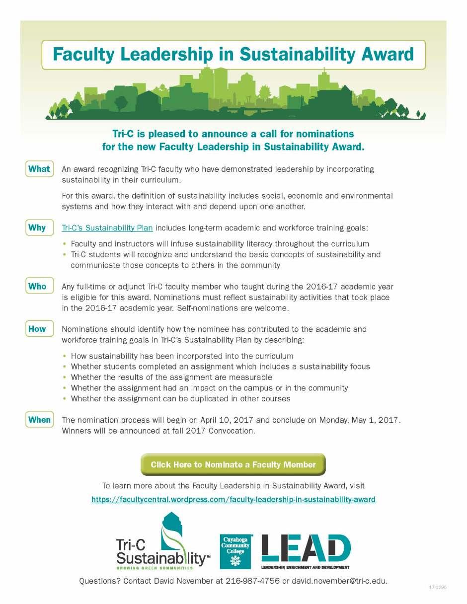 17-1295 Sustainability Faculty Leadership Award Flyer_LR (002).jpg
